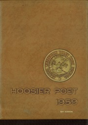 1959 Edition, James Whitcomb Riley High School - Hoosier Poet Yearbook (South Bend, IN)