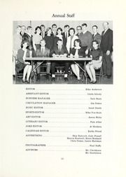 Page 15, 1967 Edition, Cory Rawson High School - Hornet Yearbook (Rawson, OH) online yearbook collection