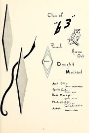 Page 7, 1963 Edition, Bryant High School - Hoosier Owl Yearbook (Bryant, IN) online yearbook collection