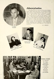 Page 8, 1954 Edition, Hellgate High School - Halberd Yearbook (Missoula, MT) online yearbook collection
