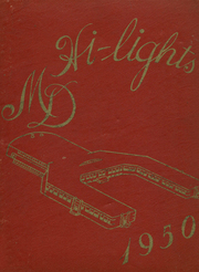 1950 Edition, Mater Dei High School - Hi Lights Yearbook (Evansville, IN)