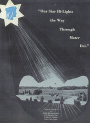 Page 5, 1959 Edition, Mater Dei High School - Hi Lights Yearbook (Evansville, IN) online yearbook collection