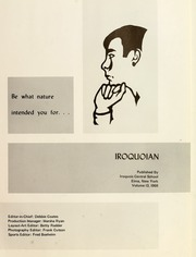 Page 5, 1968 Edition, Iroquois Central High School - Iroquoian Yearbook (Elma, NY) online yearbook collection