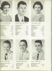 Page 10, 1956 Edition, Jackson Center High School - Ja Ce Hi Yearbook (Jackson Center, OH) online yearbook collection