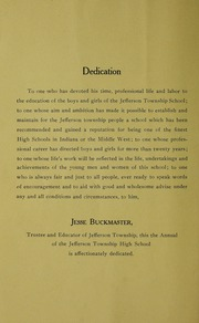 Page 10, 1922 Edition, Jefferson Township School - Jeffersonian Yearbook (Warren, IN) online yearbook collection