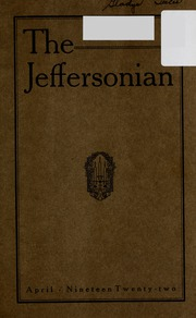 Page 5, 1922 Edition, Jefferson Township School - Jeffersonian Yearbook (Warren, IN) online yearbook collection