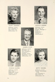 Page 10, 1951 Edition, Jefferson Township School - Jeffersonian Yearbook (Warren, IN) online yearbook collection