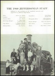 Page 8, 1960 Edition, Jefferson High School - Jeffersonian Yearbook (Jefferson, GA) online yearbook collection