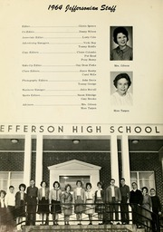 Page 8, 1964 Edition, Jefferson High School - Jeffersonian Yearbook (Jefferson, GA) online yearbook collection