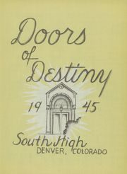 Page 5, 1945 Edition, Denver South High School - Johnny Reb Yearbook (Denver, CO) online yearbook collection