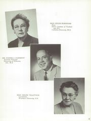 Page 17, 1954 Edition, Denver South High School - Johnny Reb Yearbook (Denver, CO) online yearbook collection