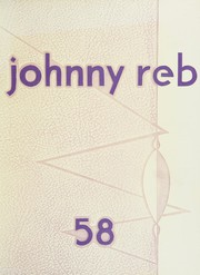 Page 1, 1958 Edition, Denver South High School - Johnny Reb Yearbook (Denver, CO) online yearbook collection