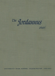 Page 1, 1945 Edition, University High School - Jordannus Yearbook (Bloomington, IN) online yearbook collection