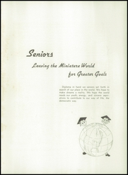 Page 13, 1945 Edition, University High School - Jordannus Yearbook (Bloomington, IN) online yearbook collection