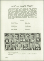 Page 14, 1945 Edition, University High School - Jordannus Yearbook (Bloomington, IN) online yearbook collection