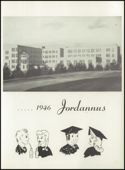Page 9, 1946 Edition, University High School - Jordannus Yearbook (Bloomington, IN) online yearbook collection