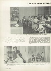 Page 8, 1954 Edition, University High School - Jordannus Yearbook (Bloomington, IN) online yearbook collection