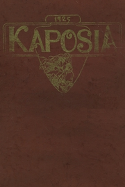 South St Paul High School - Kaposia Yearbook (South St Paul, MN) online yearbook collection, 1925 Edition, Page 1