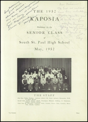 Page 7, 1952 Edition, South St Paul High School - Kaposia Yearbook (South St Paul, MN) online yearbook collection