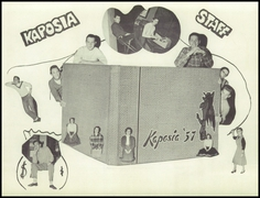 Page 11, 1957 Edition, South St Paul High School - Kaposia Yearbook (South St Paul, MN) online yearbook collection