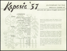 Page 5, 1957 Edition, South St Paul High School - Kaposia Yearbook (South St Paul, MN) online yearbook collection