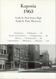 Page 6, 1963 Edition, South St Paul High School - Kaposia Yearbook (South St Paul, MN) online yearbook collection