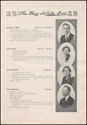 Page 13, 1915 Edition, Kendallville High School - Kay Aitch Ess Yearbook (Kendallville, IN) online yearbook collection