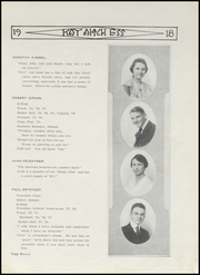 Page 13, 1918 Edition, Kendallville High School - Kay Aitch Ess Yearbook (Kendallville, IN) online yearbook collection