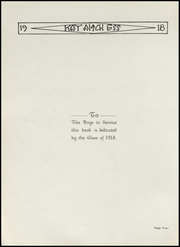 Page 6, 1918 Edition, Kendallville High School - Kay Aitch Ess Yearbook (Kendallville, IN) online yearbook collection