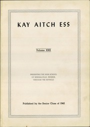 Page 5, 1942 Edition, Kendallville High School - Kay Aitch Ess Yearbook (Kendallville, IN) online yearbook collection