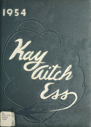 1954 Edition, Kendallville High School - Kay Aitch Ess Yearbook (Kendallville, IN)