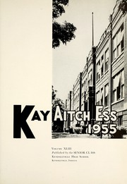 Page 5, 1955 Edition, Kendallville High School - Kay Aitch Ess Yearbook (Kendallville, IN) online yearbook collection