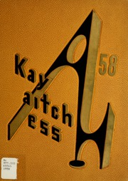 1958 Edition, Kendallville High School - Kay Aitch Ess Yearbook (Kendallville, IN)