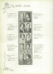 Page 38, 1929 Edition, Webb City High School - King Jack Yearbook (Webb City, MO) online yearbook collection