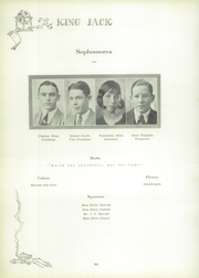 Page 52, 1929 Edition, Webb City High School - King Jack Yearbook (Webb City, MO) online yearbook collection