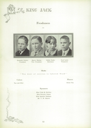 Page 58, 1929 Edition, Webb City High School - King Jack Yearbook (Webb City, MO) online yearbook collection