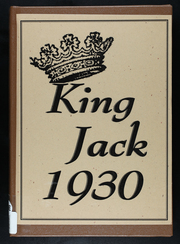 Page 1, 1930 Edition, Webb City High School - King Jack Yearbook (Webb City, MO) online yearbook collection