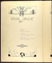 Page 6, 1930 Edition, Webb City High School - King Jack Yearbook (Webb City, MO) online yearbook collection