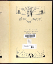 Page 7, 1930 Edition, Webb City High School - King Jack Yearbook (Webb City, MO) online yearbook collection