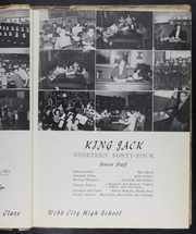Page 13, 1944 Edition, Webb City High School - King Jack Yearbook (Webb City, MO) online yearbook collection