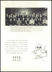 Page 11, 1952 Edition, Webb City High School - King Jack Yearbook (Webb City, MO) online yearbook collection
