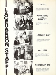 Page 10, 1967 Edition, Sir Adam Beck Secondary School - Lacedaemon Yearbook (London, Ontario Canada) online yearbook collection