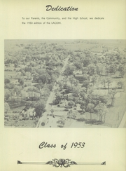 Page 9, 1953 Edition, La Fontaine High School - Lacohi Yearbook (La Fontaine, IN) online yearbook collection