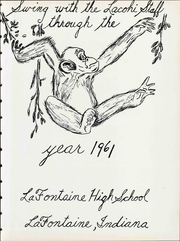 Page 7, 1961 Edition, La Fontaine High School - Lacohi Yearbook (La Fontaine, IN) online yearbook collection