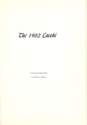 Page 5, 1962 Edition, La Fontaine High School - Lacohi Yearbook (La Fontaine, IN) online yearbook collection