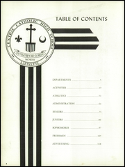 Page 8, 1960 Edition, Central Catholic High School - Lance Yearbook (Lafayette, IN) online yearbook collection