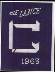 1963 Edition, Central Catholic High School - Lance Yearbook (Lafayette, IN)