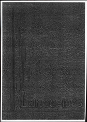 1965 Edition, Central Catholic High School - Lance Yearbook (Lafayette, IN)