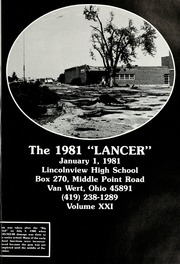 Page 5, 1981 Edition, Lincolnview High School - Lancer Yearbook (Van Wert, OH) online yearbook collection