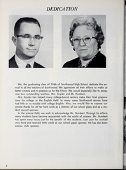 Page 8, 1966 Edition, Southwood High School - Lance Yearbook (Wabash, IN) online yearbook collection